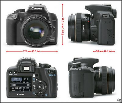 Digital Camera Canon EOS D1000